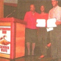 Scholarship Recipients Natasha N. Richardson & Isaiah Santos